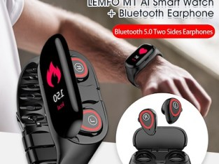 Smart watch with Bluetooth headset