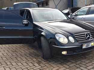 Mercedes Benz W211 E Class For Hire