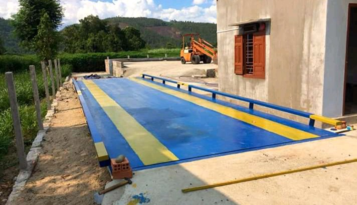 Weighbridge with high precision double ended shear beam in kampala