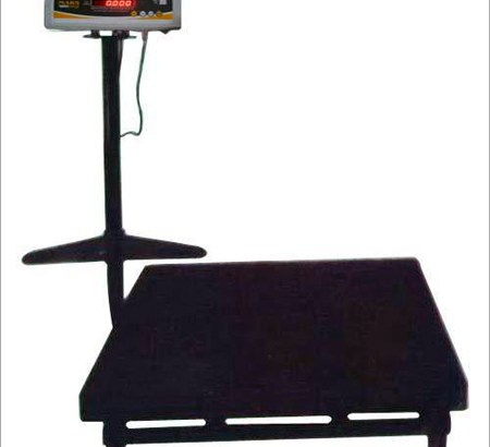 Stainless steel top platform scale with rail in jinja