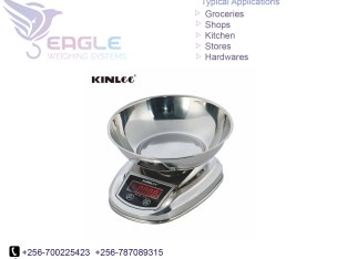Digital Food, Household Digital Kitchen Scale With Bowl