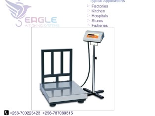 electronic platform digital weighing scale with railing