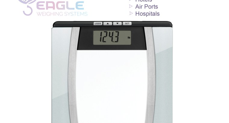180kg Glass Digital Bathroom scales