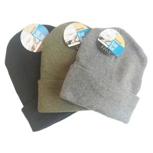 da0e37df62e Mens Assorted Dark Knit Winter Hat. 12 Hats