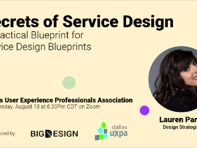 Secrets of Service Design with Lauren Parr