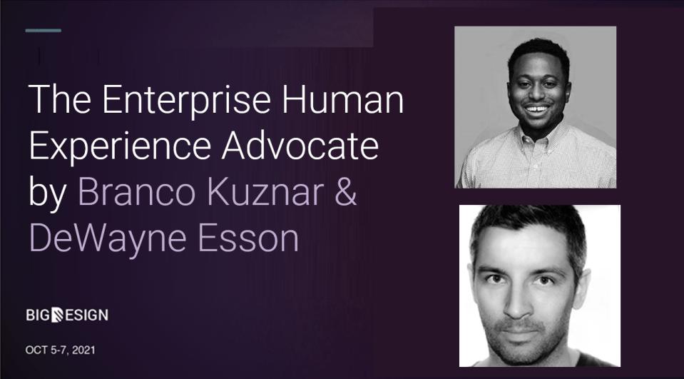 The Enterprise Human Experience Advocate