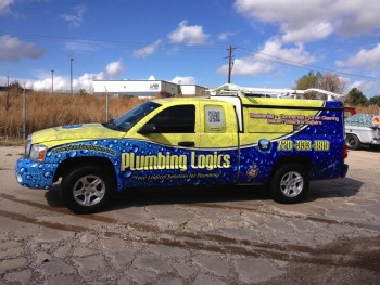 Awesome Truck Wraps Performed At Our Shop Big Dog