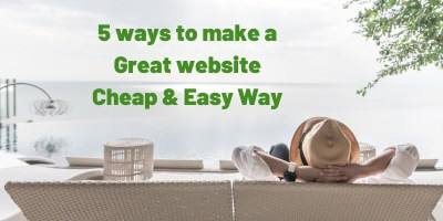 Malaysia Business | 5 ways to make a Great website Cheap & Easy Way 4