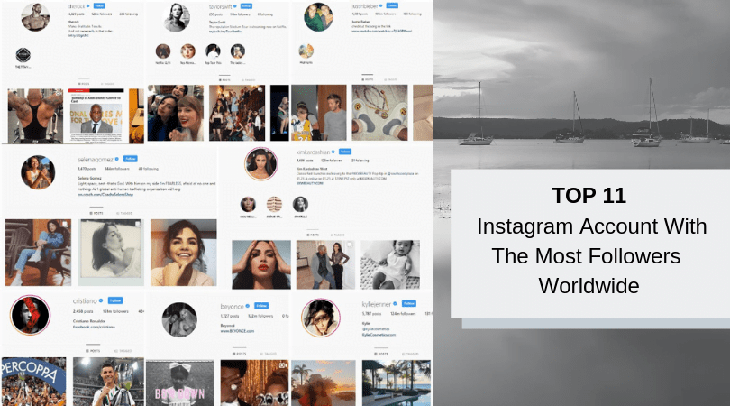Top 11 Instagram Accounts With The Most Followers Worldwide 1