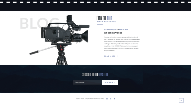 Awesome website design from our awesome team 8