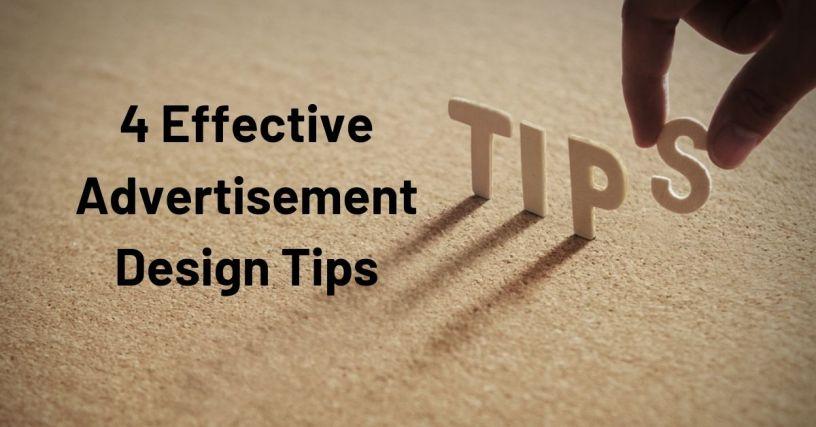 4 Effective Advertisement Design Tips 1
