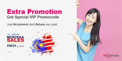 【RM0.88 Promo】 RM200 Bonus Vouchers. Applicable for the Purchase of Domain / Hosting! 2