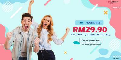 Get your .MY domain at RM29.90 only !!! 2