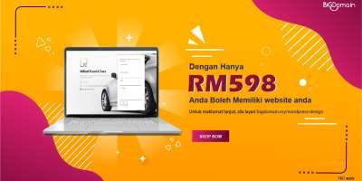 DENGAN HANYA RM598 ANDA MAMPU MEMILIKI LAMAN WEB ANDA SEKARANG! 4