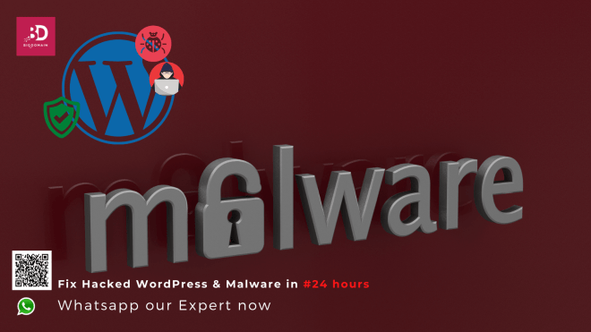 BigDomain can FIX your Hacked WordPress and Malware Problems within 24 hours