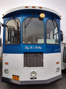 24 exterior 2 - 24 Passenger<br>Classic Trolley</br>Limo #24