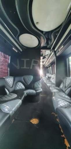 4 60 - 53 Passenger<br>VIP Tour Party Bus</br>Limo #60