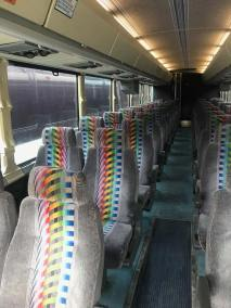 bus 34 interior 4 - 37 Passenger<br>Coach Tour Bus</br>Limo #39