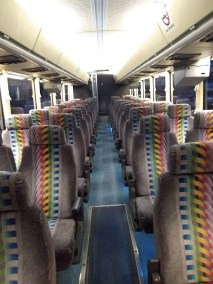 bus 37 interior 3 - 57 Passenger<br>Coach Tour Bus</br>Limo #37