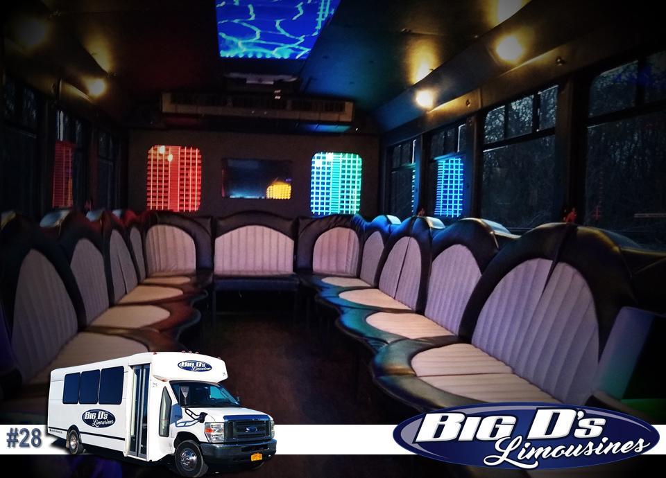 fleet bus 28 - 18 Passenger<br>450 Party Bus</br>Limo #28