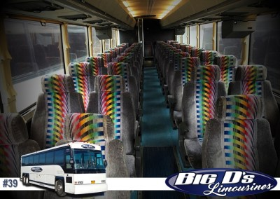 37 PassengerCoach Tour BusLimo #39