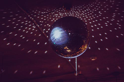 mirror ball at a prom dance - Proms