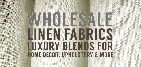 NEW Linen Fabrics! Buy Wholesale!