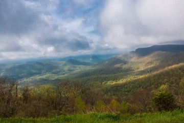 rolling hills of western north carolina