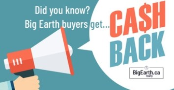 cash back to home buyers in central Ab