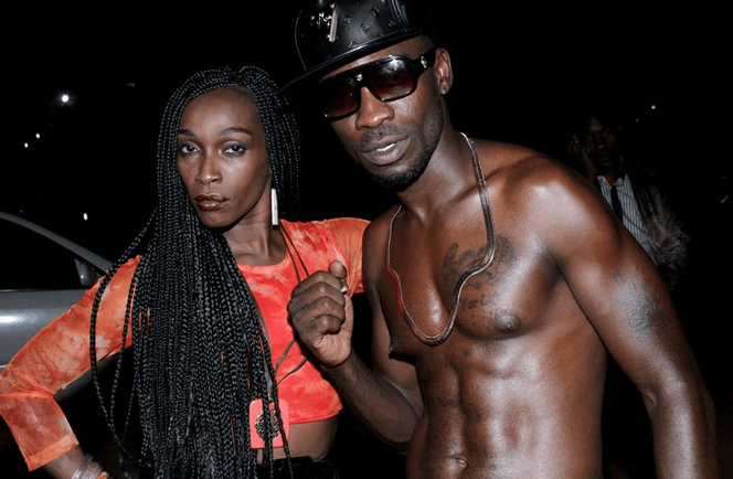 PHOTOS Bobi Wine In Video Shoot With Jamaican Singer Patra