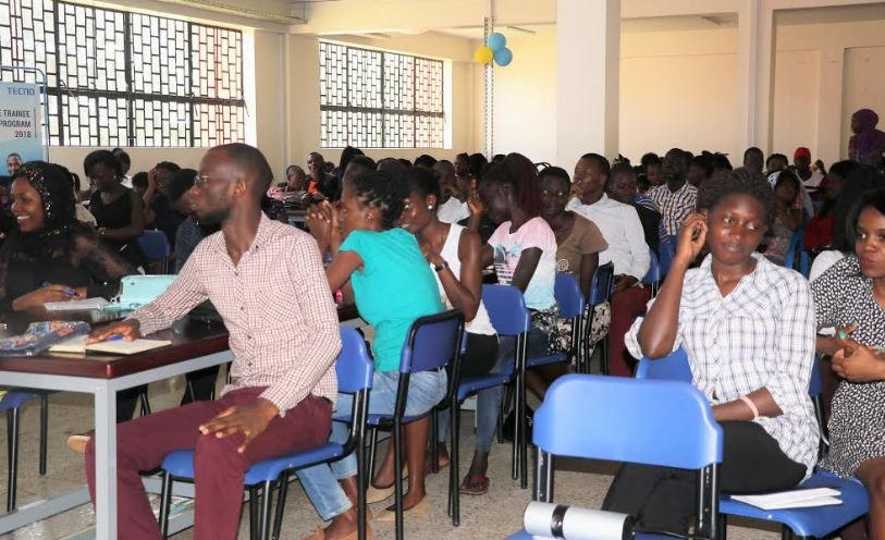 The first TECNO Graduate Trainee program was held at MUBS