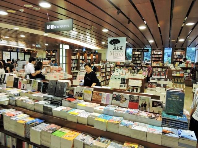 tayvan'da kitapçı