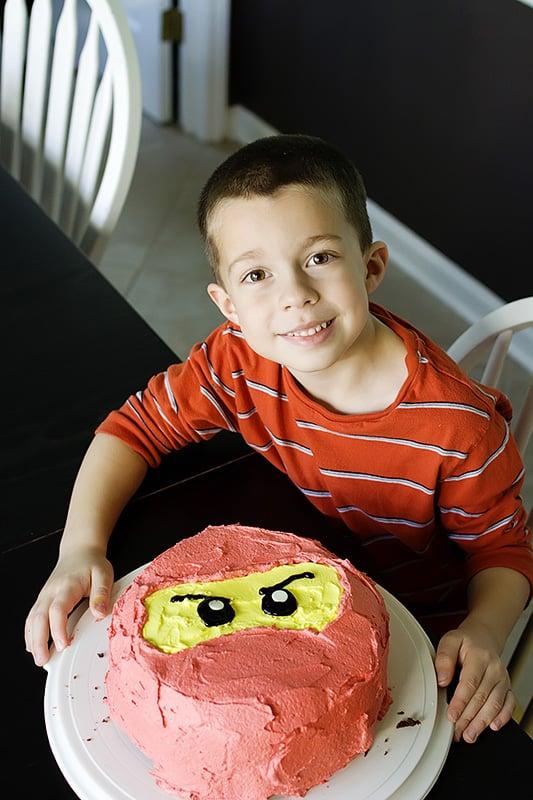 DIY Ninjago Cake