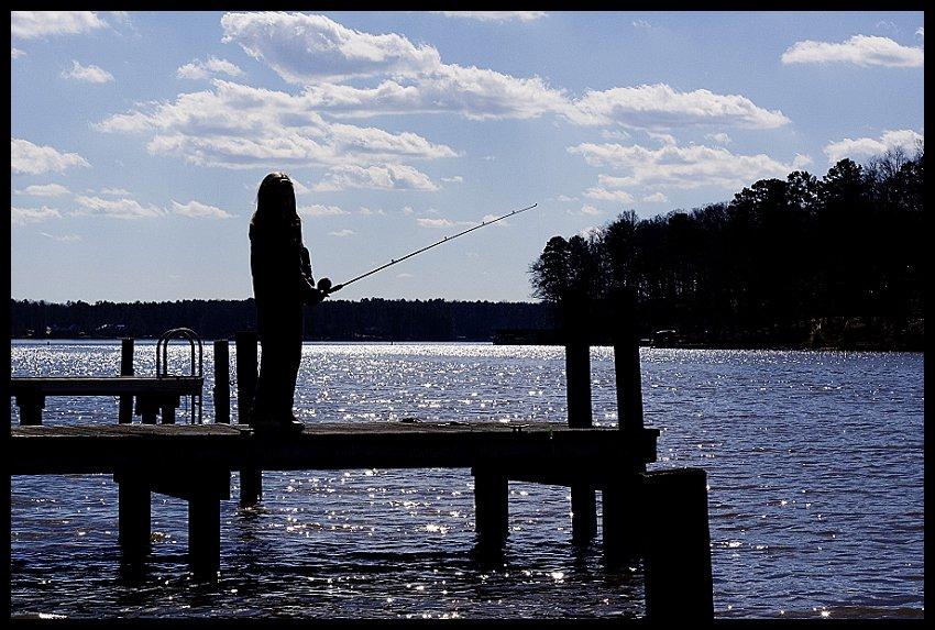 Miriam Fishing