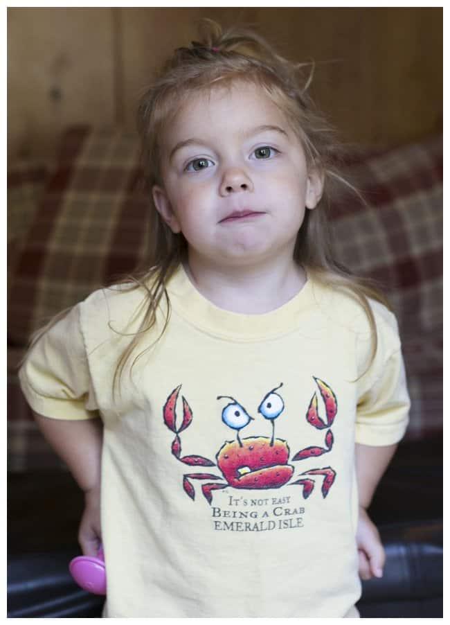 Crabby Girl