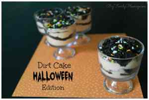 Dirt Cake – Halloween Edition