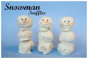 Snowman Truffles