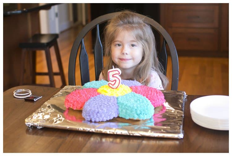 Peyton is 5!