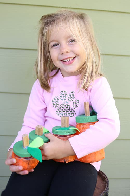 Emily's pumpkin jars