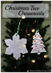 Simple and Fun Christmas Tree Ornaments