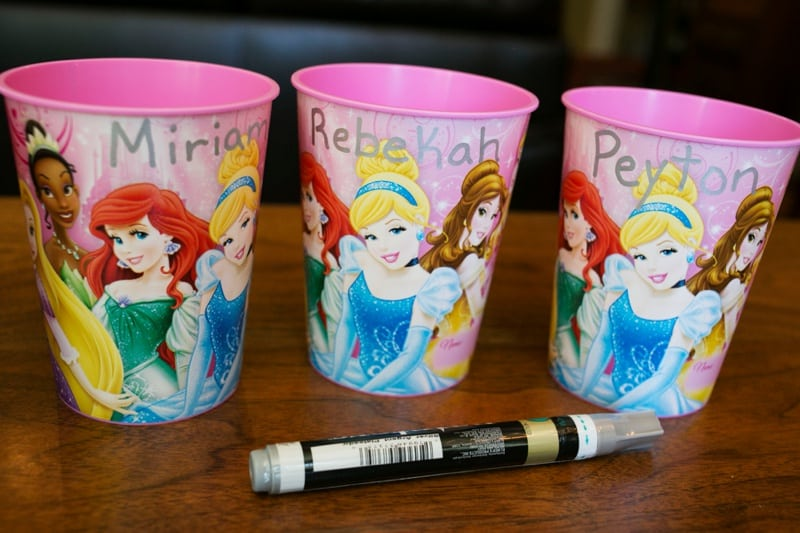 Disney Princess Party Craft and Favor Tutorial