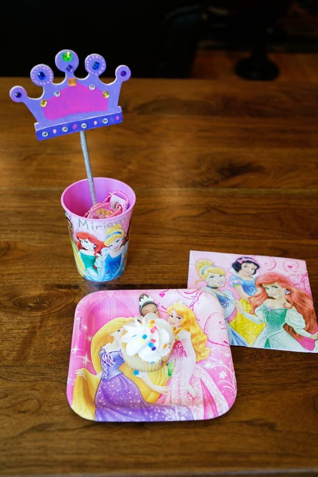 Disney Princess Crown Wand Party Craft & Tutorial