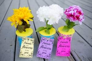 DIY Flower Pot Snack for Your Daughter's Next Get Together