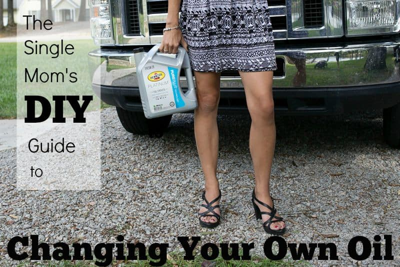 The Single Mom's DIY Guide to Changing Your Own Oil