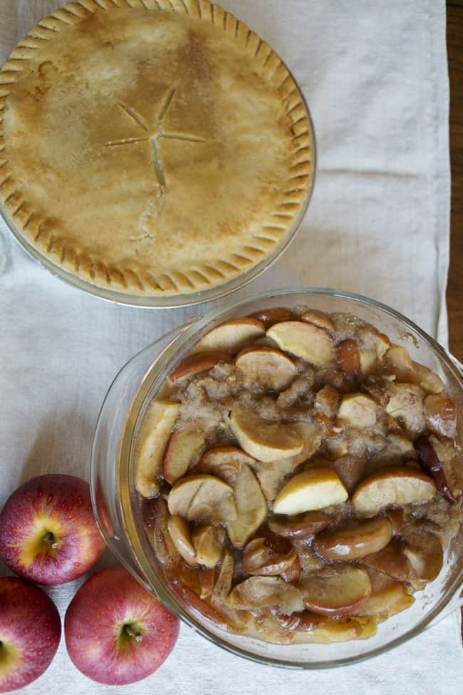 Pot Pie and Apple Betty