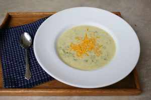 Super Cheesy (and Easy) Broccoli Cheese Soup