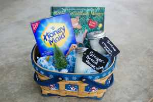 Make a Honey Maid House with Mortimer Gift Basket