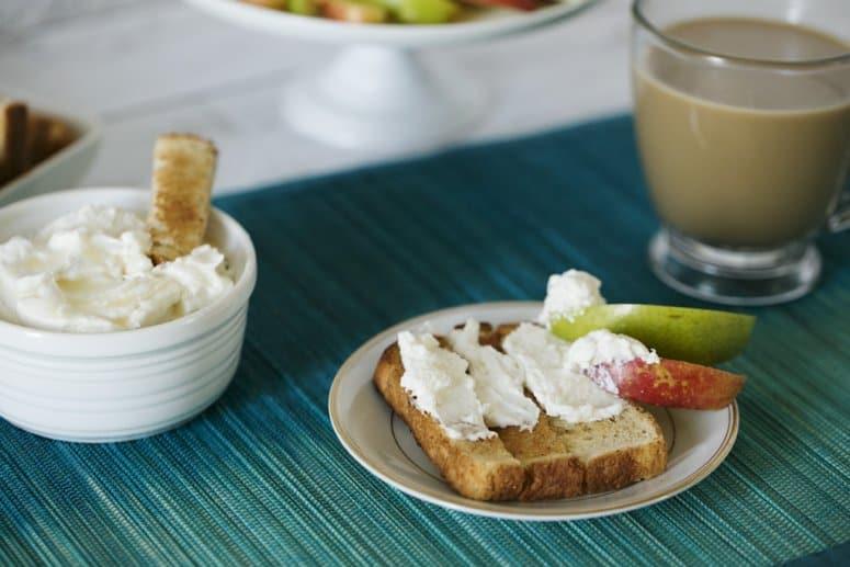 White Chocolate Hazelnut Cheesecake Spread & Dip