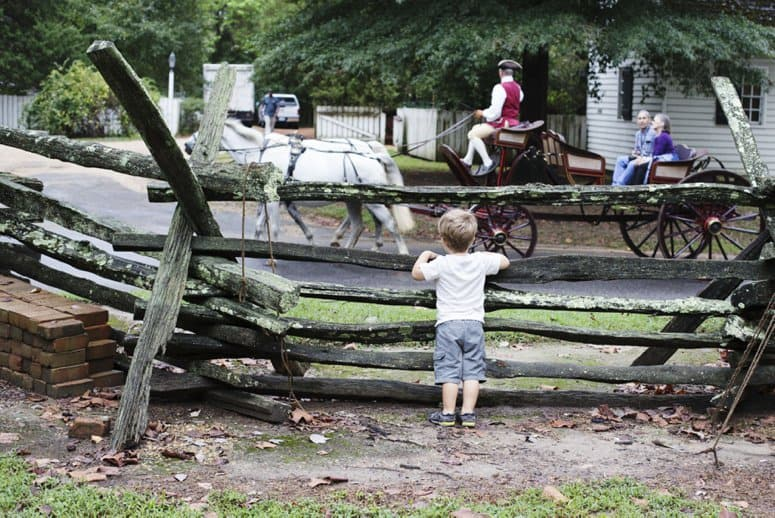 Colonial Williamsburg Homeschool Days Tips