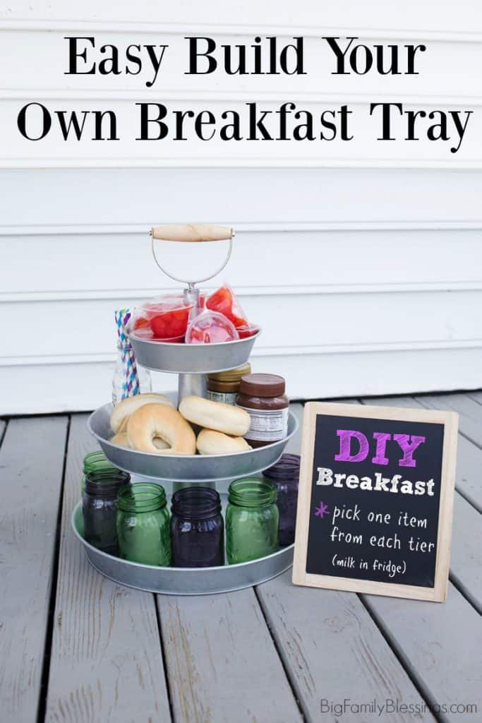 Self-Serve DIY Breakfast Station